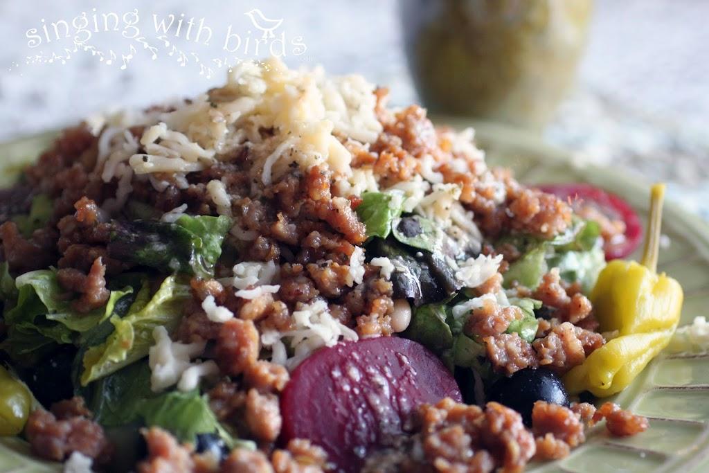Tuscan Sausage Salad