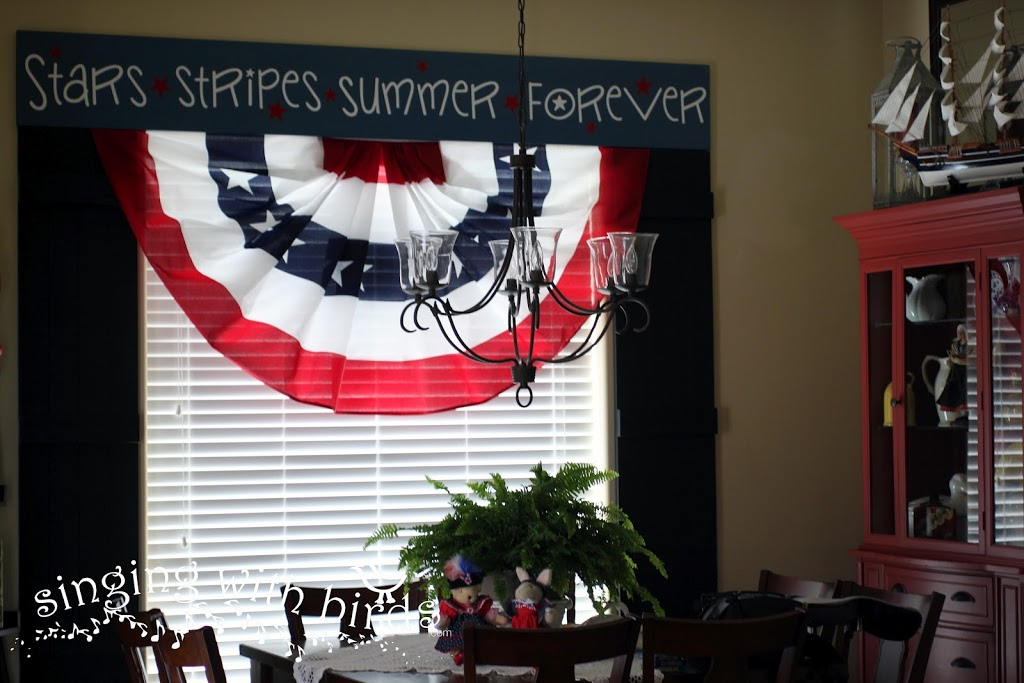 Happy 4th of July Home Decor