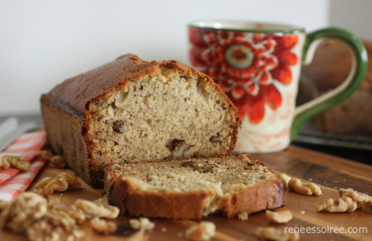 Buttermilk Banana-Nut Bread