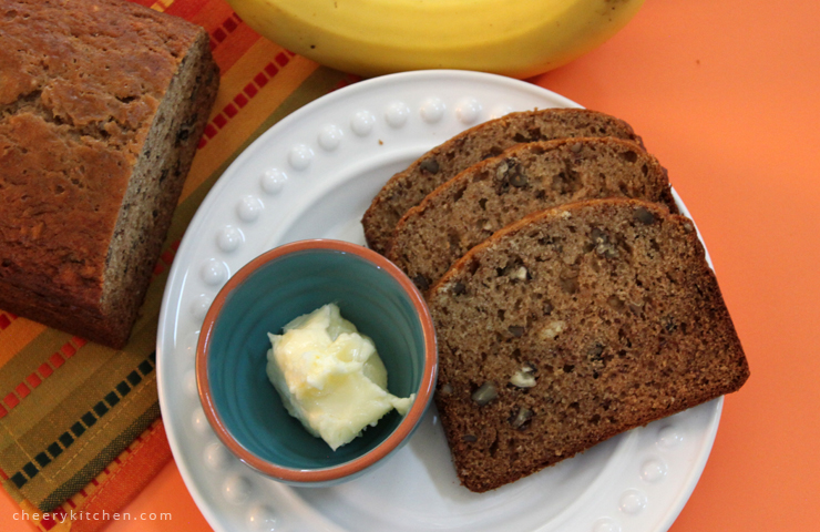 Easy Bread Machine Banana Nut Bread