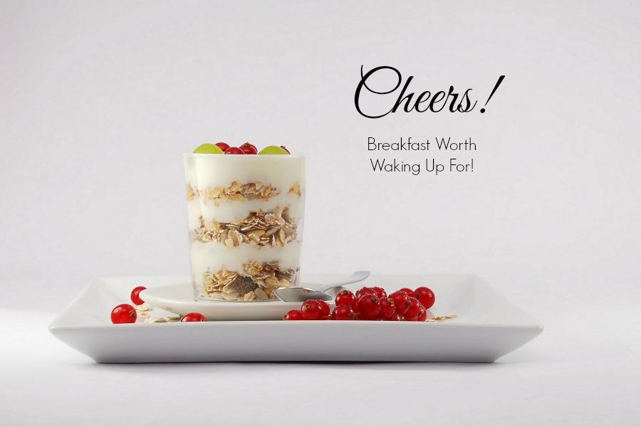 Cheers! Breakfast
