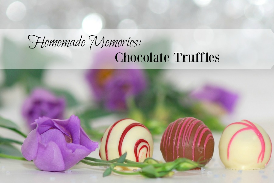 Homemade Memories: Chocolate Truffles